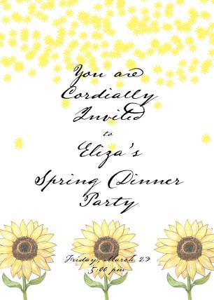 Spring Invites